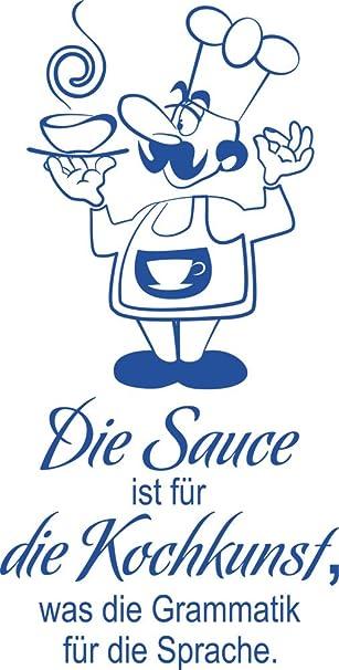 GRAZDesign Wandtattoo Küche lustig Suppe - Wandtattoo für Küche ...