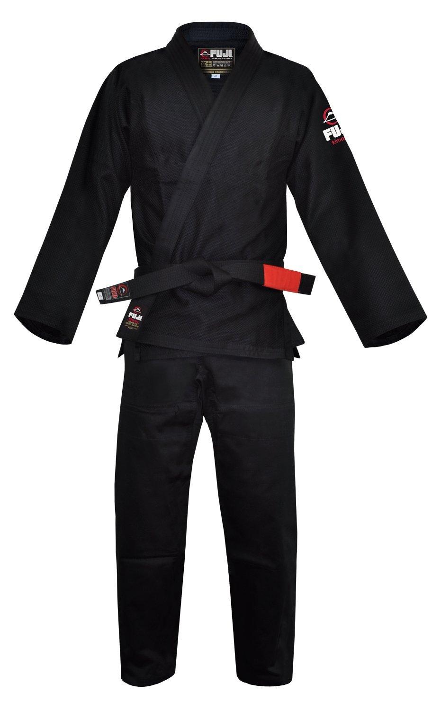 Fuji BJJ Uniform, Black, A1