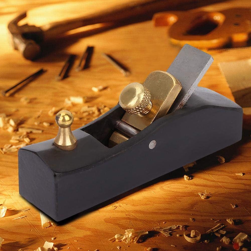 cepilladora Manual cepilladora Manual 80mm carpinter/ía Ccylez Mini cepilladora de Madera Carpintero Herramienta Manual con 65 Cuchillas de manganeso para Cortar pulir y desbarbar Superficies