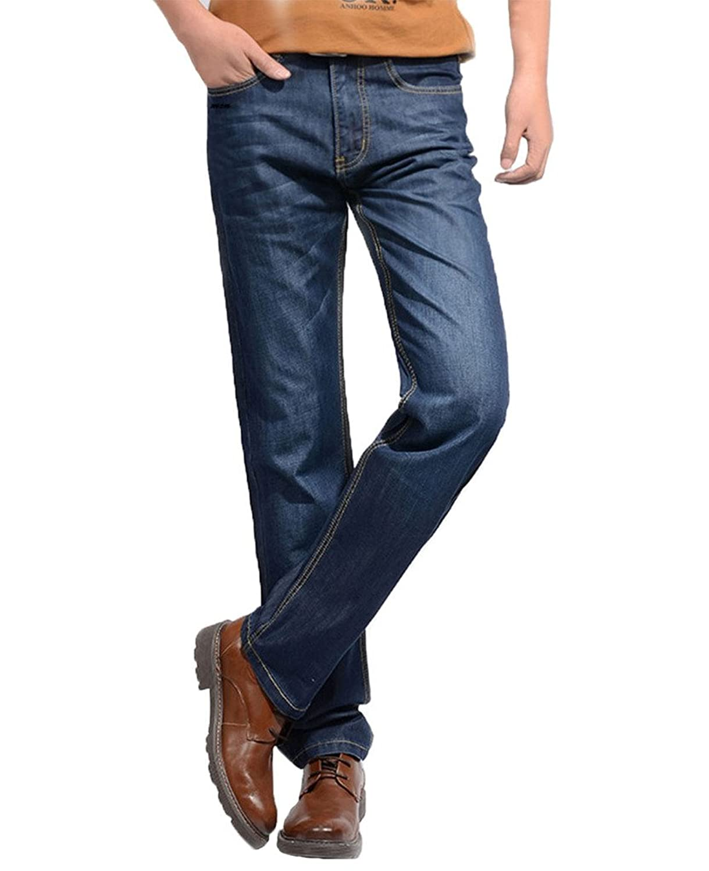 Tortor 1bacha Men's Big Tall Straight Pants Jeans