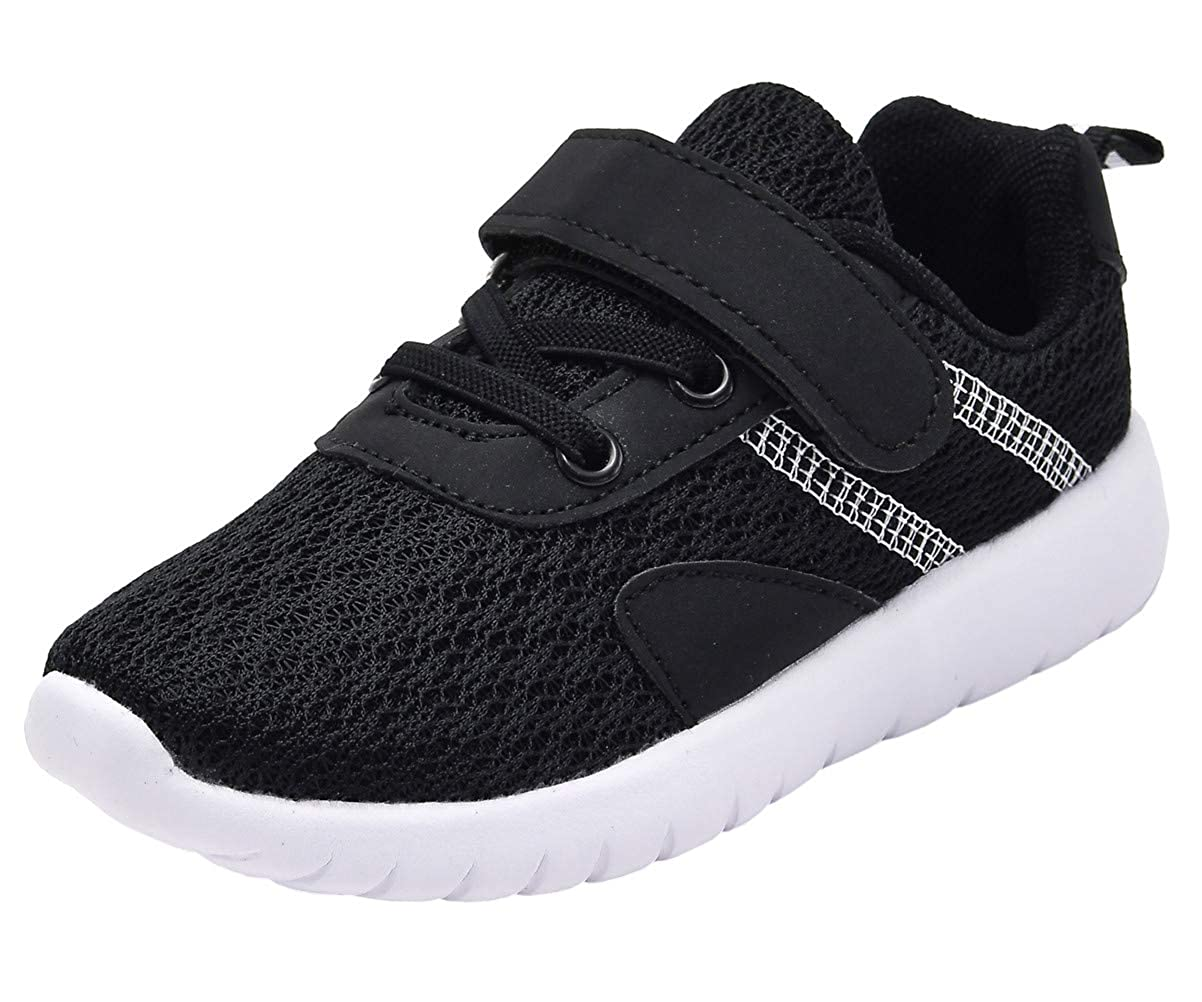 DADAWEN Toddler//Little Kid Boys Girls Casual Lightweight Breathable Strap Sneakers Athletic Running Shoes