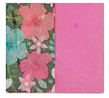 Amazon Com Stylish Hibiscus Flowers With Pink Design Pack Of