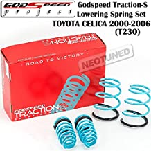 Godspeed (LS-TS-TA-0011) Traction-S Lowering Spring Set For Toyota Celica 2000-2006 T230 gsp set kit