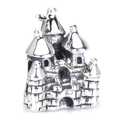 24e0187aa Amazon.com: Authentic BELLA FASCINI Fairytale Castle Charm Bead- 925 ...
