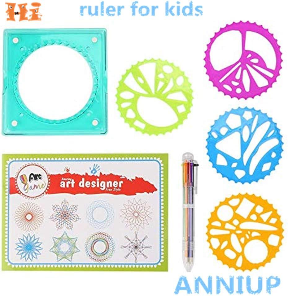 Hot Sale Spirograph Geometric Ruler Stencil Spiral Art Classic Toy Stationery