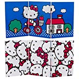 Best HELLO KITTY Room Dividers - Oriental Furniture 2-Feet Tall Double Sided Hello Kitty Review