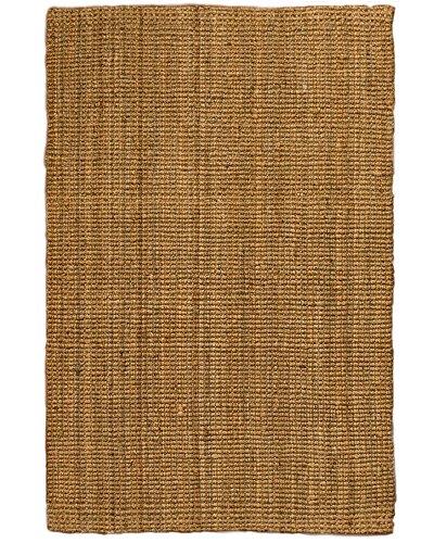 NaturalAreaRugs Calvin Collection Natural Jute Fiber Area Rug, Handmade, 100% Jute, Anti-Static, Durable, Stain Resistant, (9 Feet x 12 Feet) Beige + Bonus Rug Pad Review