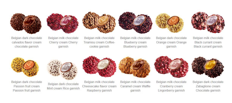 Pure, Trufas de Chocolate Belga 72 trufas - 600 gr.: Amazon.es: Alimentación y bebidas