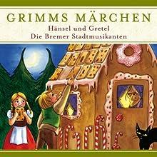 Hänsel und Gretel / Die Bremer Stadtmusikanten (Grimms Märchen) Hörspiel von  Brüder Grimm Gesprochen von: Joachim Nottke, Theo Branding, Edith Elsholtz