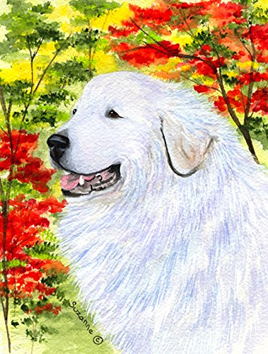 Caroline's Treasures SS8235CHF Great Pyrenees Flag Canvas, Large, Multicolor