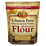Premium Gold All-Purpose Flour, Gluten Free, Flax Ancient Whole Grain and Omega-3 Fatty Acids, 1 to 1 True Replacement for All-Purpose Flour, 2-Pound Bag