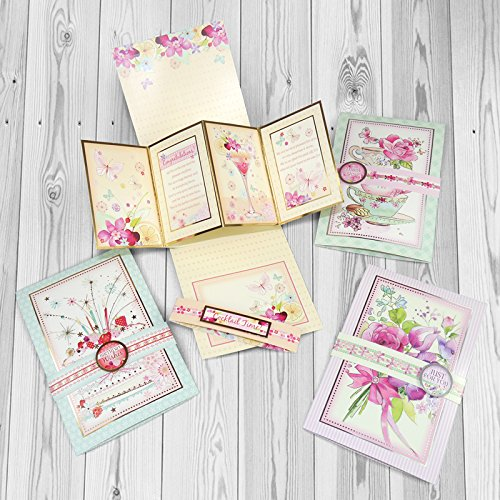 Hunkydory Crafts Twist n' Pop Specialty Card Kit -- Makes 16 Cards!