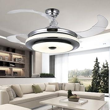 Huston Ventilador Ventilador de techo con lámpara de araña 4 ...
