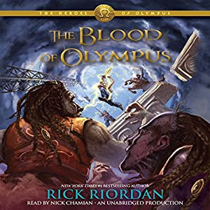 The Blood of Olympus Audiobook