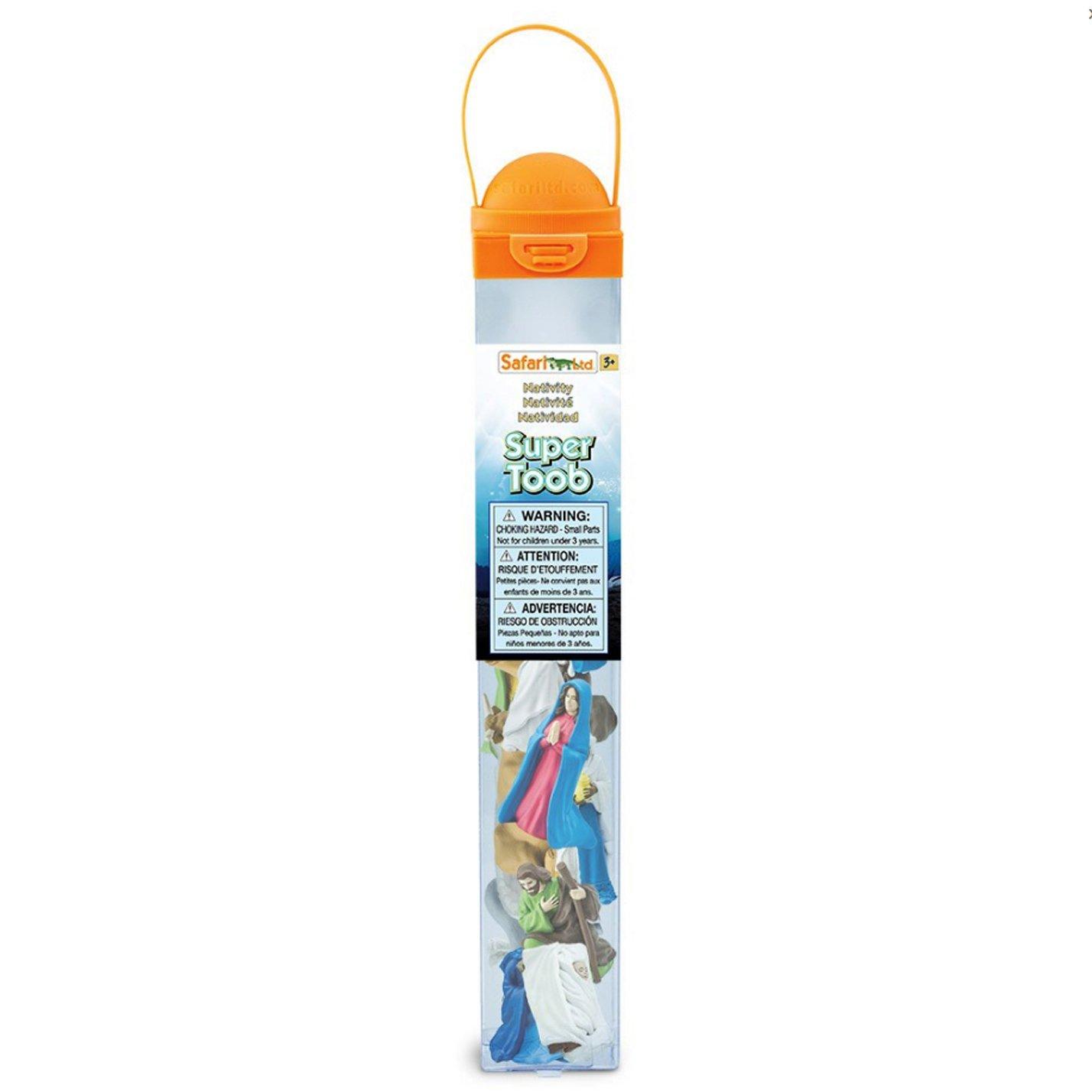 Safari Ltd. Nativity SuperTOOB - Quality Construction from Safe and BPA Free Materials