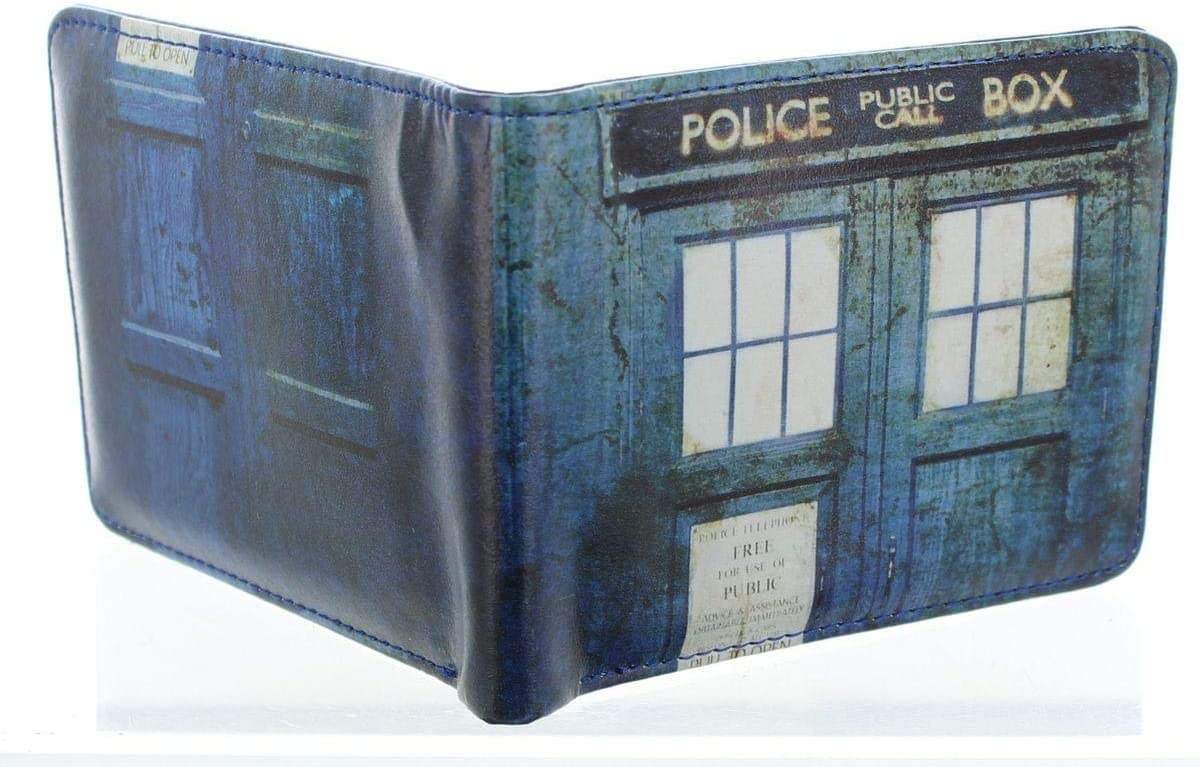 Doctor Who   Tardis   Men's  Wallet.
