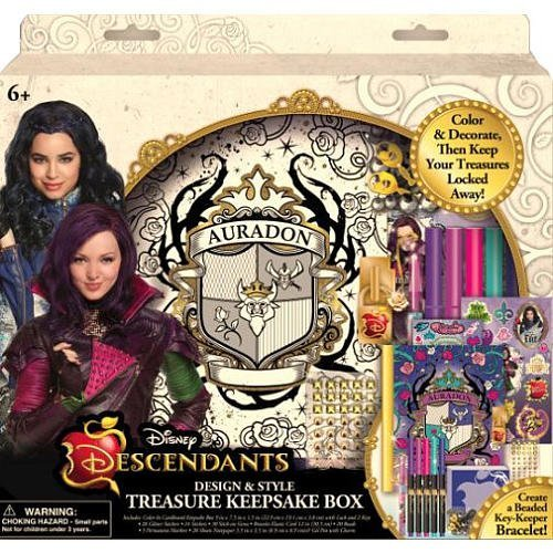 - Disney Descendants Design & Style Treasure Keepsake Box by Innovative Designs