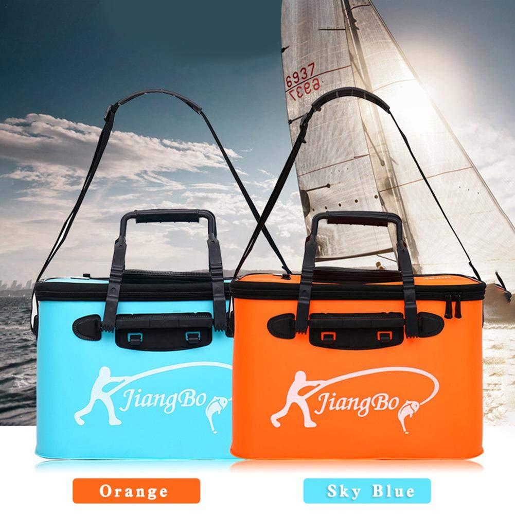 Libertry Fishing Folding Bucket Mehrzweck-Trageimer Aquarium Outdoor-Angelzubeh/ör f/ür Camping Reisen Wandern Angeln Bootfahren und Gartenarbeit