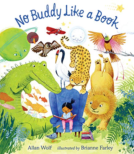 Book Cover: No Buddy Like a Book