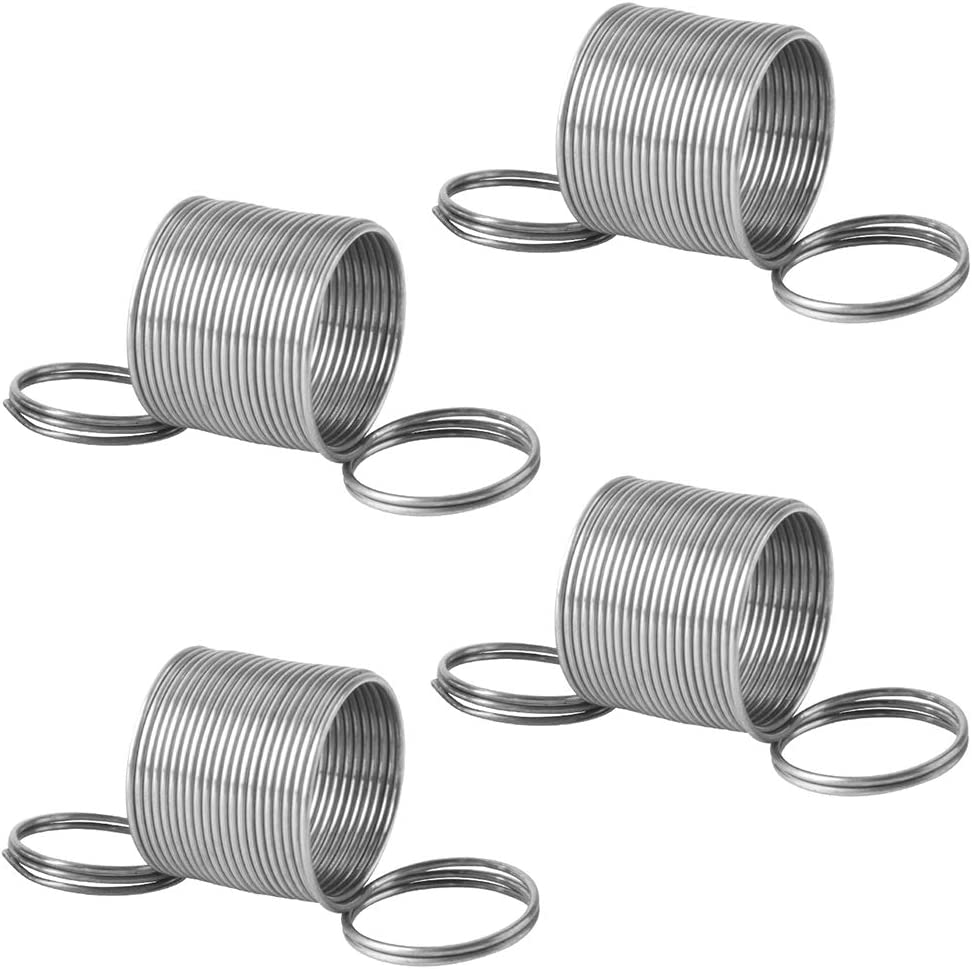 Gekufa W10400895 Washer Suspension Spring Fit for Whirlpool Washing Machine, Replace AP5263280, PS3497596, W10348658 (Pack of 4)