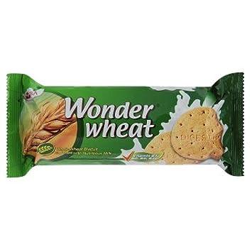 fa64111d6ef7 Amazon.com  Mayora Wonder Wheat Whole Wheat Biscuit 156g x 6 Packs ...
