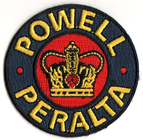 Powell Peralta Supreme Skateboard Patch - Iron/Sew On - 6x6cm New