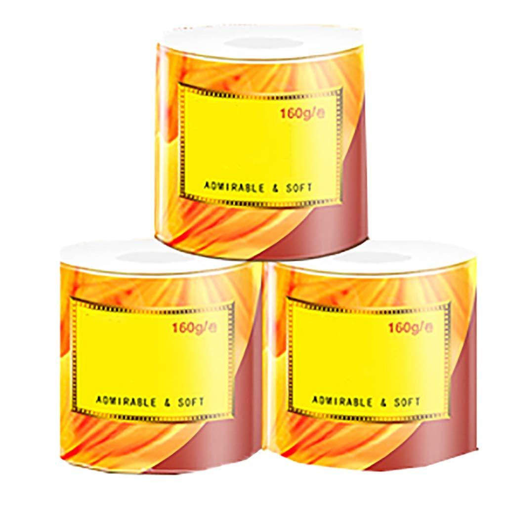 コアロールトイレットペーパー、食品グレード認定、4層デザインはより耐久性、生分解性、24ロール B07RDY6SXW