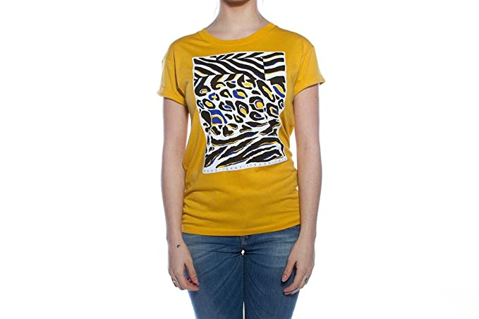 Pepe Jeans - T-Shirt - Femme Jaune Citronier X-Small - Jaune - X ... 837f26d5c94