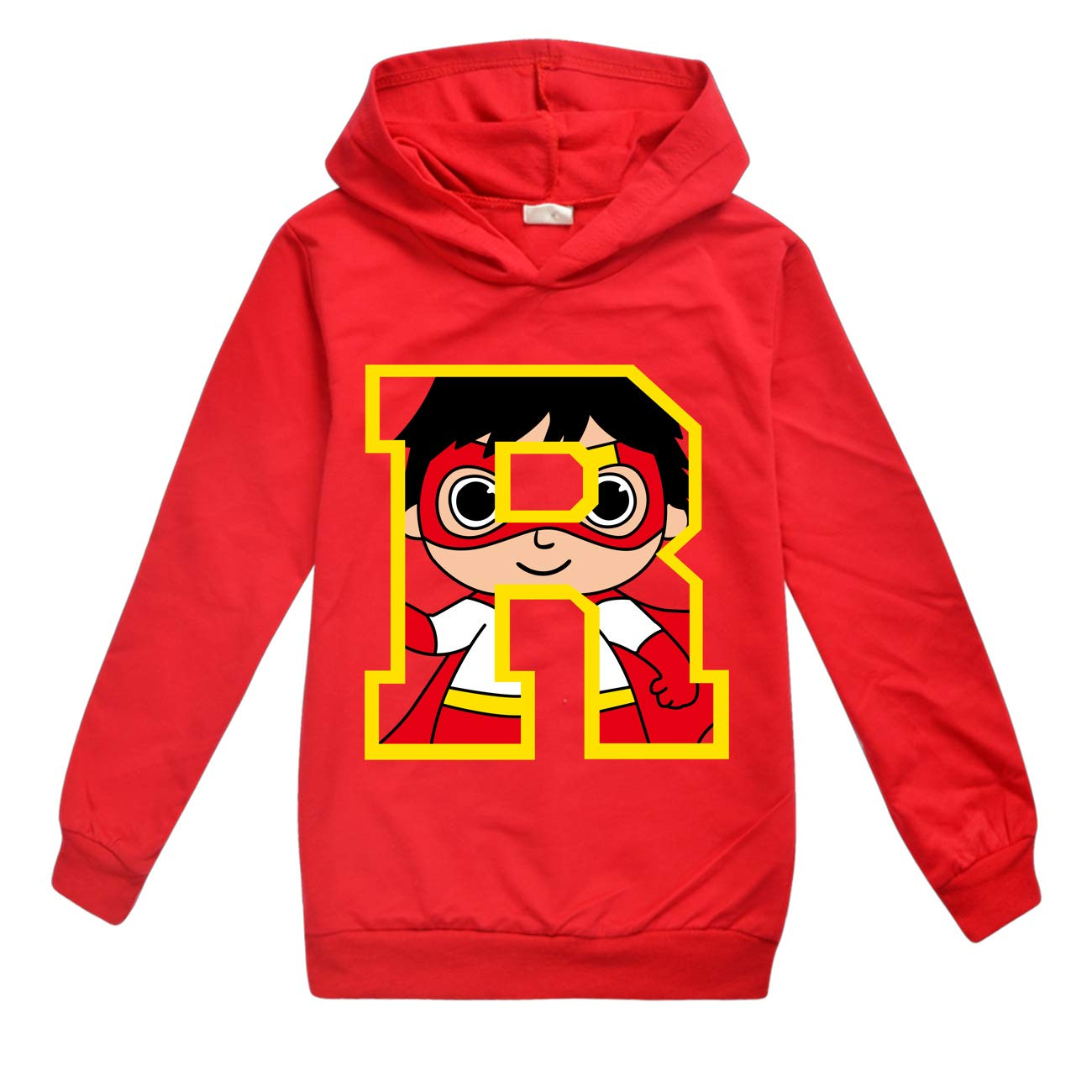 Thombase Boys Ryans Toy Review Long Sleeve Hoodie YouTube Ryans World Tracksuits