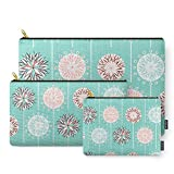 Society6 Fine And Dandy Wishes Carry-All Pouch Set of 3
