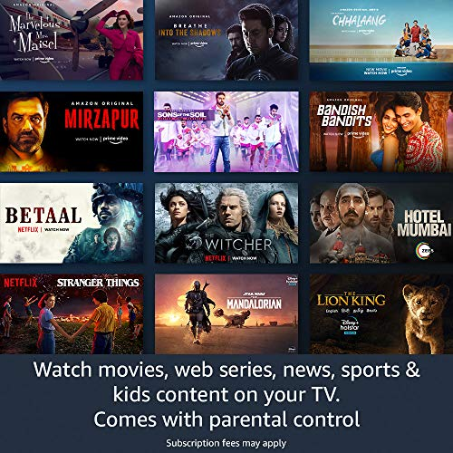 All-new Fire TV Stick Lite with Alexa Voice Remote Lite | Stream HD Quality Video | No power and volume buttons | 2020… 3