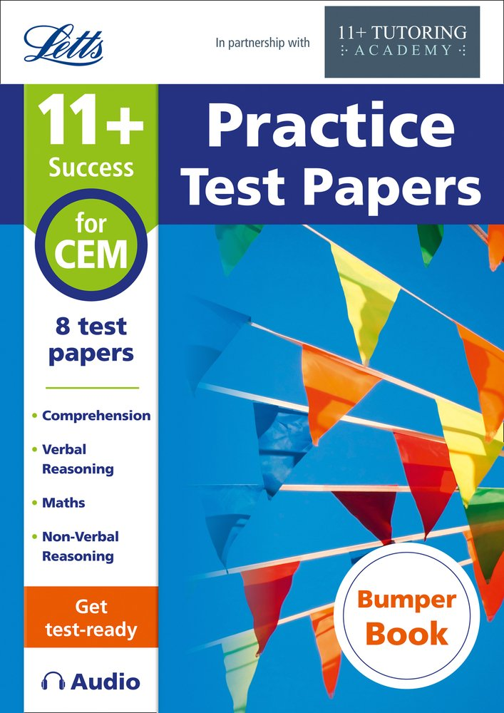 Letts 11+ Success ― 11+ Practice Test Papers Bumper Book, Inc. Audio Download: For The CEM Tests