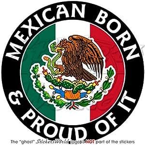 De México Born y de pavos reales 100 mm (10,16 cm) carcasa vinilo adhesivo, vinilo