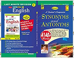 Buy Synonyms And Antonyms English Medium 1808 Book Online At Low