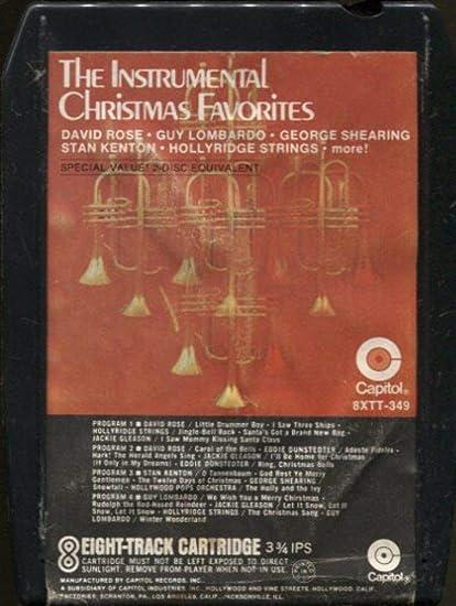 Amazon.com : The Instrumental Christmas Favorites -31590 8 ...