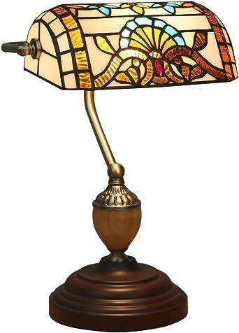 Lampe murale Marron Diele e14 verre méditerranéenne vintage