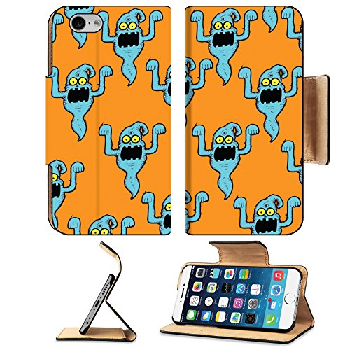 [Liili Apple iPhone 6 Plus iPhone 6S Plus Flip Pu Leather Wallet Case Ghost for Halloween iPhone6 IMAGE ID] (Trick Or Treat Costumes Images)