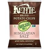 Kettle Brand Potato Chips, 100% Avocado Oil, Himalayan Salt, 6.5 Ounce