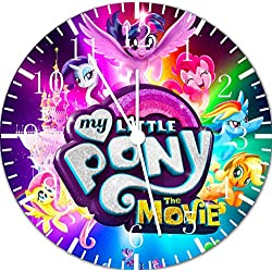 My Little Pony Frameless Borderless Wall Clock F61 Nice For Gift or Room Wall Decor
