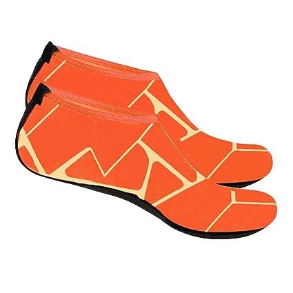 Merssavo Calcetines Snorkeling Calcetines Natación Calcetines Playa Calcetines de Buceo Zapatos de Snorkel Antideslizante Calcetines Coral