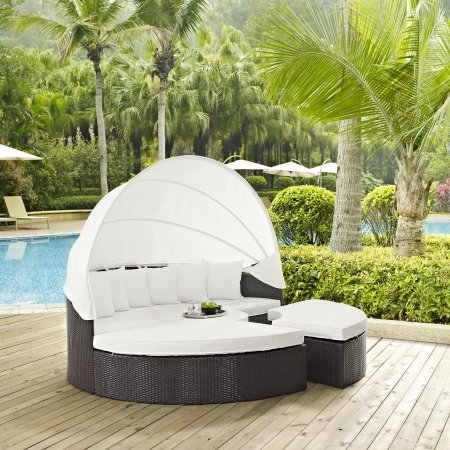 ModwayConvene 5 Piece Canopy Outdoor Patio Daybed