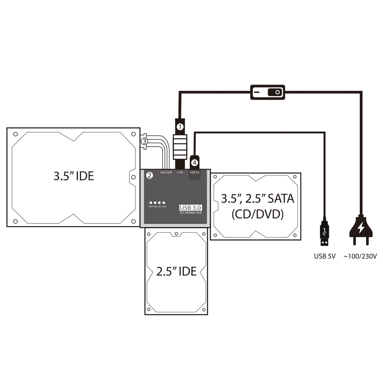 usb 3 0 to sata wiring schematics usb 3 0 to hdmi adapter