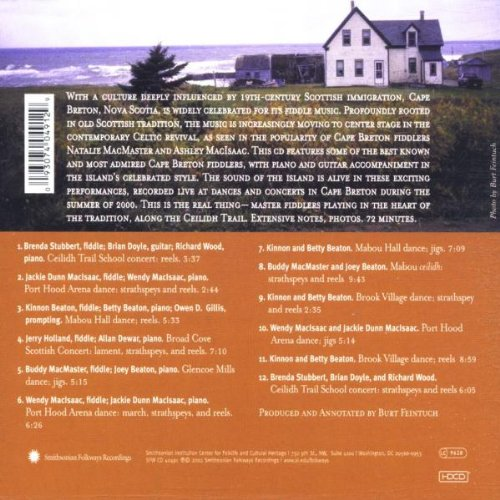 The Heart of Cape Breton by Smithsonian Folkways Recordings