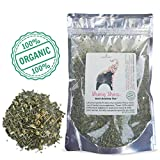 Modest Earth Strong Stress Tea | 100% ORGANIC Calming, HERBAL STRESS RELIEF | Natural Depression, ANXIETY & Cortisol Manager | SKULLCAP BLEND | Relaxing Remedy & Sleep Aid | 48+ SERVING Bag (2.03 OZ)