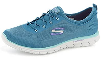 78e34d53f7a3 Image Unavailable. Image not available for. Colour  Skechers Women s  Stretch Fit Glider Bungee Trainer ...