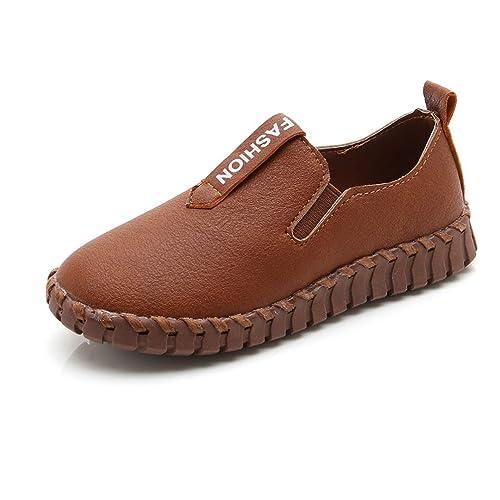 f22f6f3daeb Zapatos Impermeables para niños Zapatos Escolares para niños Zapatos  cómodos de Cuero para niños: Amazon.es: Zapatos y complementos