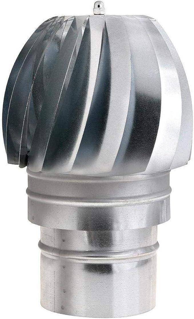 WOLFPACK 22011130 Sombrero Extractor Galvanizado Para Estufa 120mm: Amazon.es: Bricolaje y herramientas