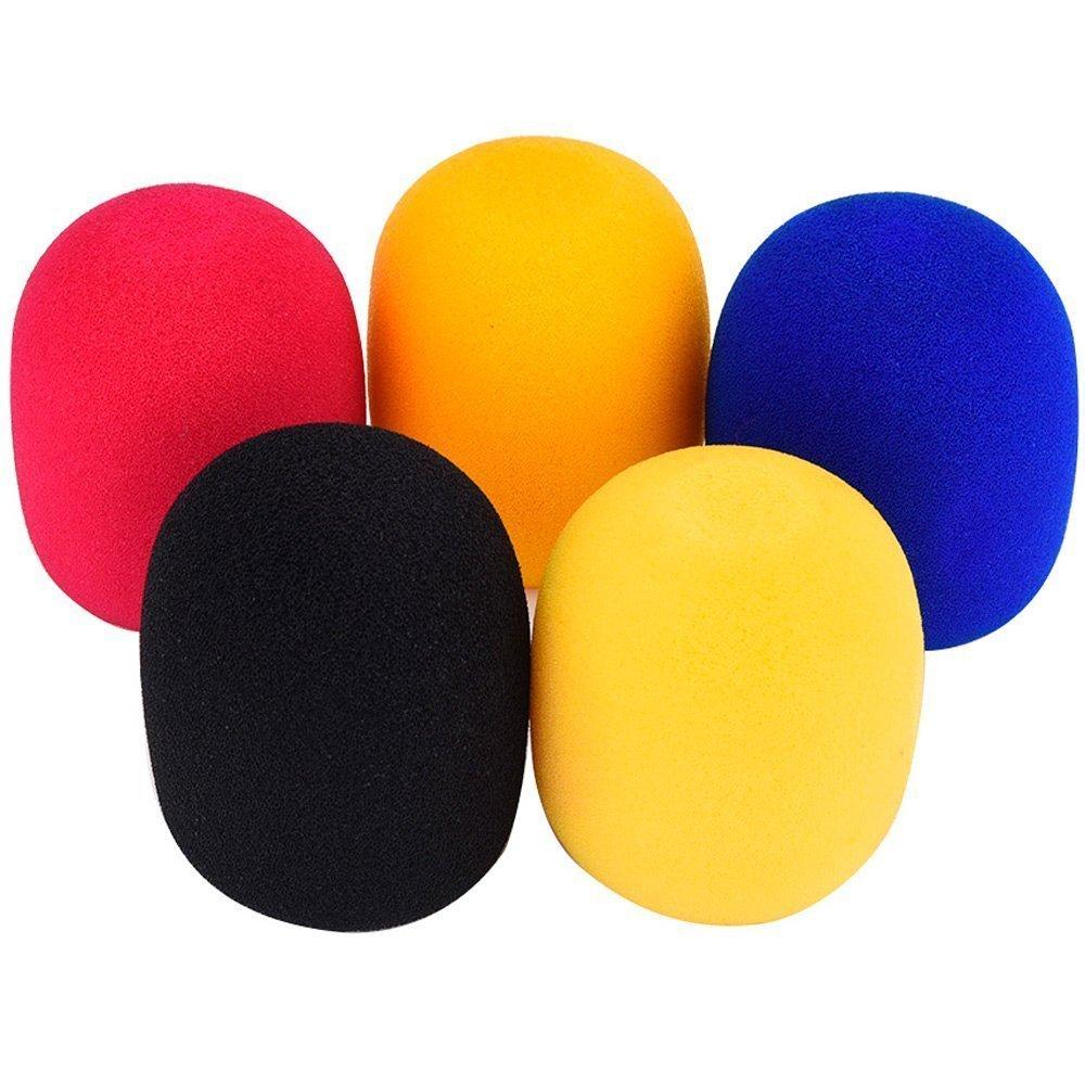 5x Demarkt Mikrofon Abdeckung Mikrofon Windschutzscheibe Windschutz für Mikrofone