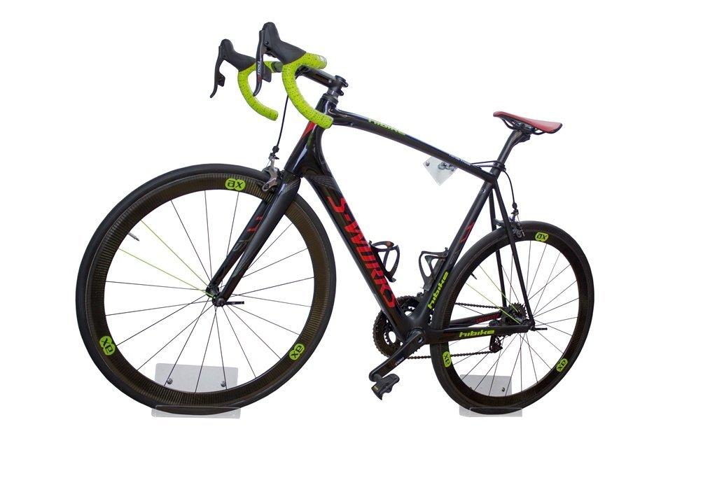 trelixx Fahrrad Wandhalter für Rennrad aus Plexiglas® (gelasert ...