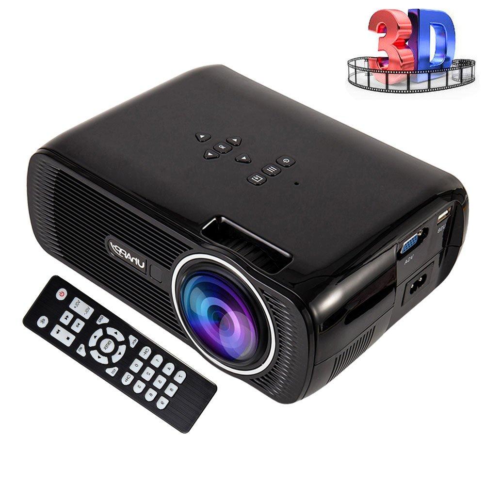 Royaliya Proyector Full HD LCD 1000 Lumenes Soporta 1080P Mini ...